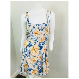 Lucca Floral Dress Skater Medium Sleeveless Flare